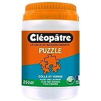 Cléopâtre - LCC5-250 - Cléo'Puzzle - Colle Vernis Puzzle Transparent - 250g