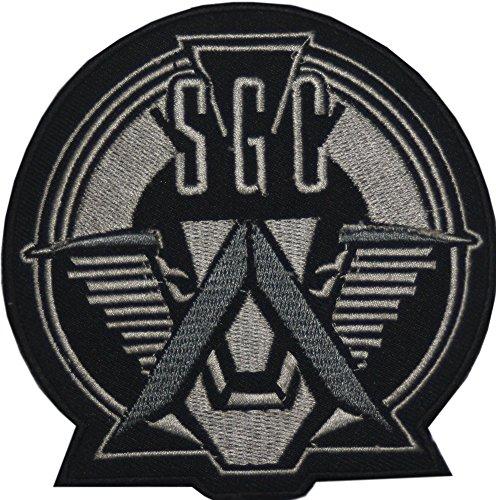 Stargate SG 1Prometheus Badge bestickt Patch 10cm Aufnäher oder zum Aufbügeln