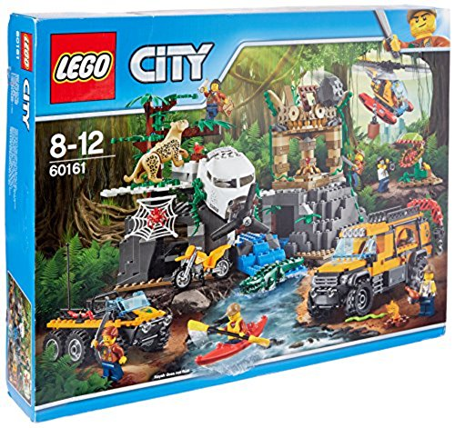 LEGO UK 60161 Jungle Exploration Site Construction Toy