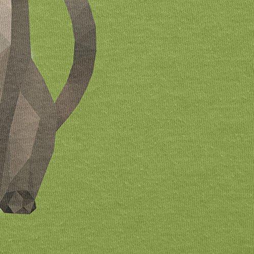 Texlab–Poly Cat–sacchetto di stoffa Verde chiaro