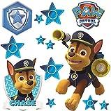 alles-meine.de GmbH 13 tlg. Set _ Fensterbilder -  Paw Patrol - Polizei Hund Chase  - selbstkle..