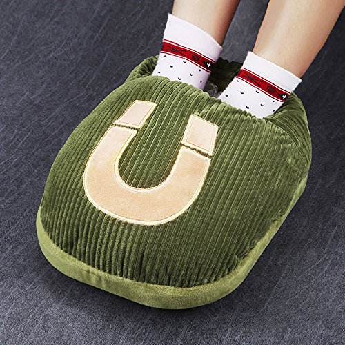 GYH chauffe-eau LJHA Creative Chaud Pied Trésor Plugged Électrique Garder Chaud Chaussures Chauffage Chaud Pieds Chaussures (33 * 25 cm) (Couleur : D)