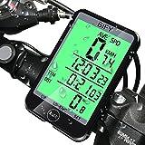BIFY Fahrradcomputer Fahrradcomputer kabellos Tachometer 20 Funktion Großbildschirm Touch Lichtsteuerung LED Hintergrundbeleuchtung Fahrrad Meter Kilometerzähler