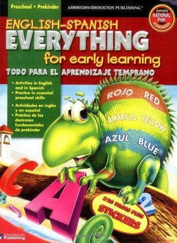 English/Spanish Everything for Early Learning/Todo Para El Aprendizaje Temprano
