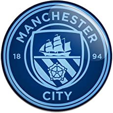 Manchester City F.C. Button Badge BL CR