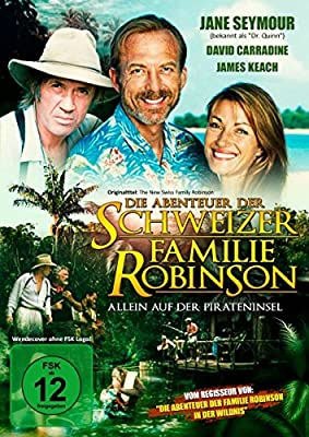Die Abenteuer der schweizer Familie Robinson (Allein auf der Pirateninsel) - Abenteuerfilm mit Jane Seymour, David Carradine un