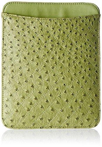 Bansri Clutch (Green) (BG IPAD COVER-GRN)