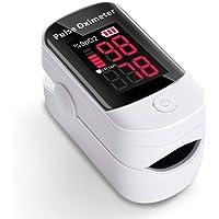 AFAC Saturimetro Ossimetro Pulsossimetro Da Dito Professionale Portatile per Frequenza Cardiaca PR e Saturazione…