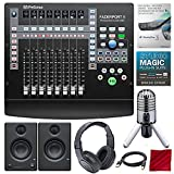 PRESONUS FaderPort 8-Kanal Mix Produktion Controller mit Studio One 3 Professionelle Software Upgrade, Studio Monitore, und Premium Musik Creation Studio Bundle