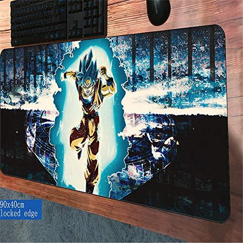Blauer Himmel fügen Sie eine weiße Wolke Landschaft Mauspad Vertrag und stilvolle Computer-Tastatur-Desktop-Kissen hochwertige große Gamepad 4 900X300X2MM (Geld Mike Kostüm)