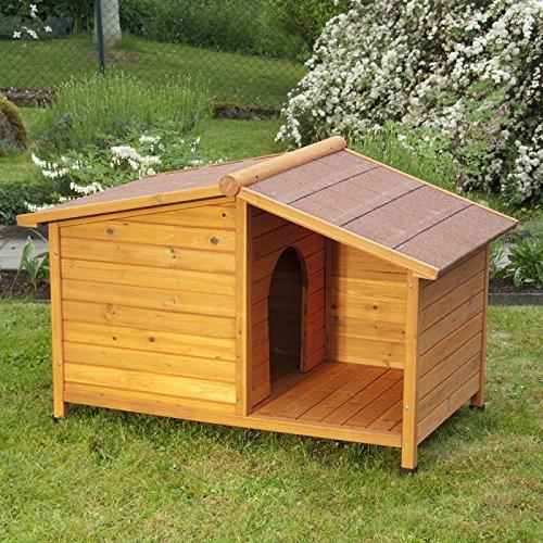 Cuccia in legno per cani, cuccia in legno per cani da esterni e per cortili coperti, una casa speciale per il tuo animale domestico