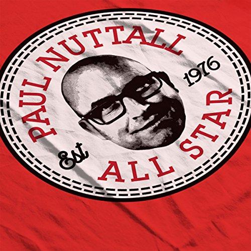 Paul Nuttall All Star Converse Logo Men's T-Shirt Red