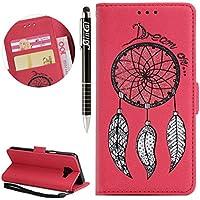Galaxy J5 Prime Hülle, Galaxy J5 Prime Hülle Ledertasche Brieftasche im BookStyle, SainCat PU Leder Wallet Case... preisvergleich bei billige-tabletten.eu