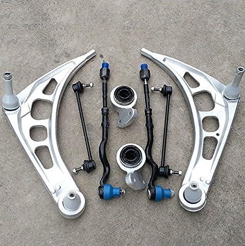 Gowe Volant Kit de réparation Suspension Avant fin Kit de suspension pour l/R Sway Bar Liens de biellette de direction pour BMW E46323325328330Z4