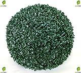 Bosso Palla Sfera Buxus Piante Artificiale Plastico Ø55cm Decorazione Per Interni ed Esterni Decovego