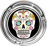 'Cenicero/Cenicero en Diseño Moderno: 'día de los Muertos tipo:/Calavera...