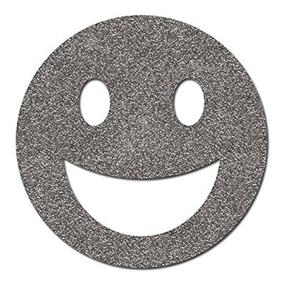 Happy Face Sticker reflektierend, Reflektoraufkleber