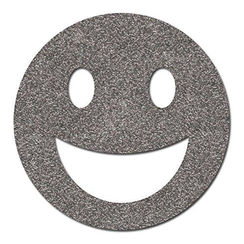 Preisvergleich Produktbild Happy Face Sticker reflektierend, Reflektoraufkleber