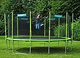 Hudora Family Trampolin mit Sicherheitsnetz 300 cm - 6