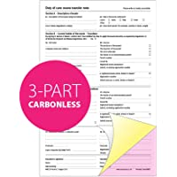 Duty of Care Waste Transfer Note Pad, A4, 3-Parts Triplicate, Carbonless Paper (Product Ref 69837) [Pack 1]