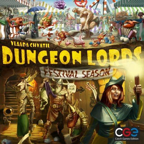 Z-Man Games 70441 - Dungeon Lords: Festival Season Expansion Kartenspiele (Brettspiele Expansion)