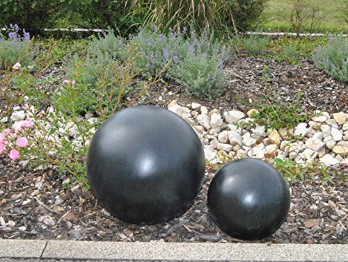 fiberglas-dekokugel-d20cm-elegant-schwarz