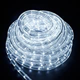 SPEED 10M LED Lichterschlauch Lichterkette Schlauch Leiste Außen und Innen Kaltweiß