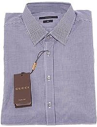 Gucci Camicia Slim Camicie Uomo Shirt Men 22060 be40aebb655