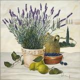 Posterlounge Acrylglasbild 50 x 50 cm: Provenzalische Auswahl von Franz Heigl/Art & Design Licensing - Wandbild, Acryl Glasbild, Druck auf Acryl Glas Bild