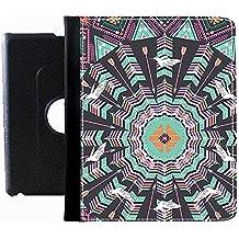 Generic Amazon 360 Degree Rotate Full Body Cover Print Aztec 2 For Ipad Air 5Generation Man