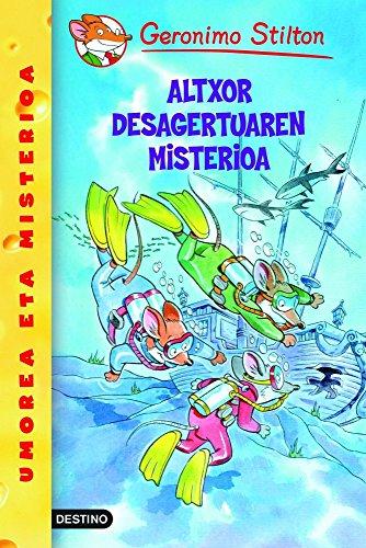 Altxor desagertuaren misterioa (Libros en euskera)