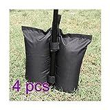 Unbekannt toyfun Himmel Gewicht Staubbeutel Sandsäcke Zelt Bein Gewicht Tasche für Verankerung Pavillons Zelte Sun Shades Trampolin, 4Stück, grün