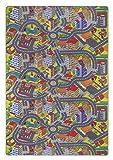 misento Kinderteppich Straßenteppich Spielunterlage  Kinderzimmer Schadstoff geprüft 200 x 300 cm