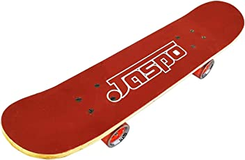 "Jaspo Experts 27""x7"" Anti Skid Skateboard with Grip Tape and Carry Bag"