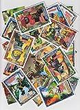 LEGO Ninjago 2 (Serie 2) - 50 Basiskarten-Set + Bonus Spezialkarte - Deutsche Ausgabe