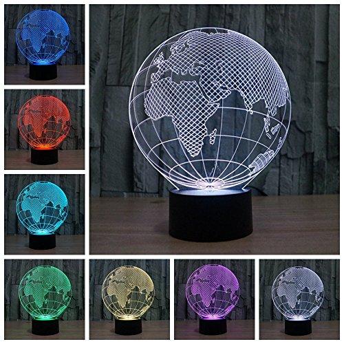 3D ILLUSION Lichter der Nacht, ( Globus )