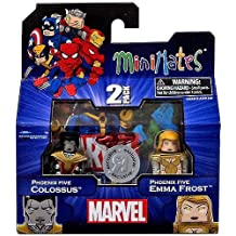 Marvel Minimates Assortments - Phoenix Five Colossus/Phoenix Five Emma Frost by Minimates