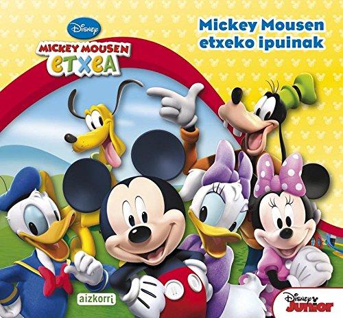 Portada del libro Mickey Mousen etxeko ipuinak (Libros de regalo)