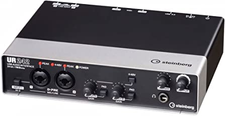 Steinberg UR242 Audio Interface 4 in / 2 out