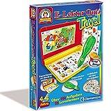 Clementoni Lernspiel, elektrischer Antwortstift, 10 Karten mit über 200 Aufgaben // E-Lektor Quiz Lernspiel für unterwegs Wissens Spiel Frage Lernstift