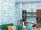 Yosot 3D Stereoskopische Einfache Moderne Fernseher Hintergrund Tapete Zimmer Zimmer Zimmer Zimmer Buchen Vlies Tapete Wathet