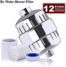 Dr. Water Shower Filter Shower Filter -12 Stage (Crome)
