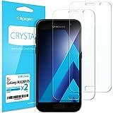 Spigen, 2 Pack, Film Protection ecran Samsung Galaxy A5 2017, Ultra Clair, LCD Film Protection ecran Samsung A5 2017, Film A5 2017 (573FL21222)