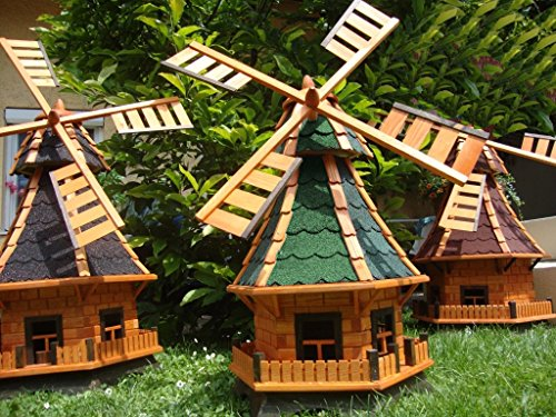 BTV Haus & Garten HWMB-qq100-OS-GRÜN-BLAUGRAU