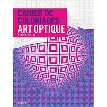 Cahier de coloriages Art Optique