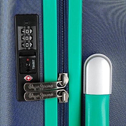 61LmOCXmgOL. SS416  - Pepe Jeans Bristol Juego de Maletas, 77 cm