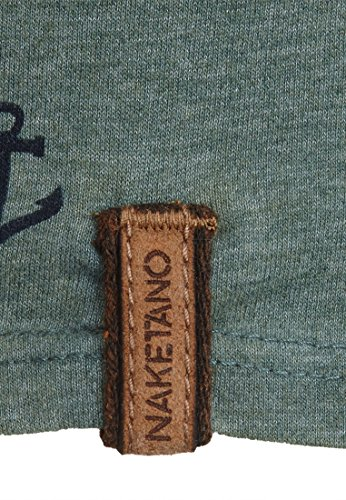 Naketano Male Sweatshirt Path Of The Dark Side III Heritage Forrest Melange