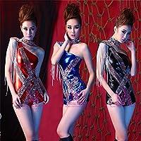 Sexy Dessous Kleidung und Tanz Damen Lackleder engrener Siamesische Kleidung Pole Dancing Nachtclub, L preisvergleich bei billige-tabletten.eu
