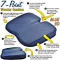 Medipaq® Freedom Wedge Cushion - Great for Coccyx Relief, Lumbar Support, Back Pain in the Car or at Home produced by Medipaq - quick delivery from UK.