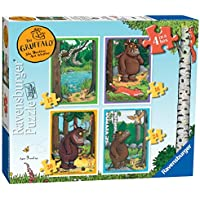 Ravensburger 7157 The Gruffalo 4 in Box Jigsaw Puzzles - 12, 16, 20 and 24 Pieces